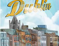 Dublin City Illustration