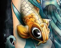 Illustration Project - Exploring Tattoo's