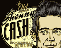 T-Shirt Design Johnny Cash