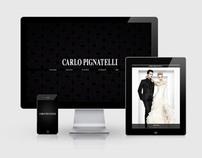 Carlo Pignatelli - Web Site, Mobile Web  and Mobile App