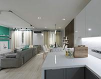 Turquoise apartment1