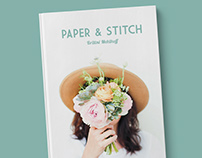 Paper & Stitch | Academic Project