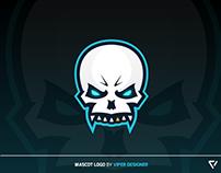 Mascot Logo - Skull