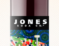 Jones Soda Bottle Label Concept