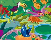 Promotional Illustration / Nestlé