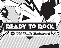OldSkullz Slateboard - Panda