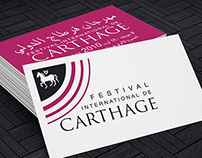 Branding Festival International de Carthage