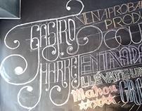 GastroMarket - Chaklboard lettering