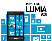 New Creative Poster for Nokia Lumia 920