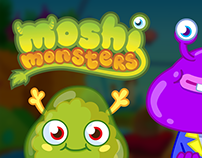 Moshi Monsters Character and Object Animation