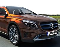 Mercedes Benz GLA, Class A Project