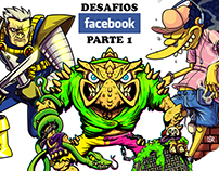 Desafios Fanart Facebook: parte 1