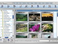 User Interface: Photo Album 5, Jasc Software