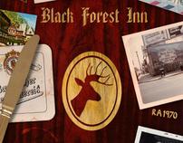 Design & Illustration: Black Forest Inn