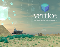 Vertice - 3D Archive Interface