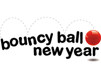 Logo and Marketing Collateral for Bouncy Ball New Year