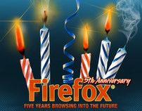 Mozilla Firefox 5 Years Challenge