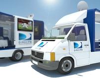 Directv truck