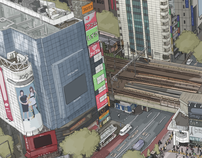 109 ( The Shibuya drawing )