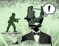 Green Plastic Revival - Band Promotional Artwork