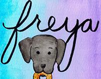 Freya & Wife Illustration