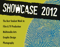 SBCC School of Media Arts Showcase 2012 Poster