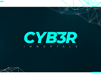 Identidade visual e Overlay - cyb3r