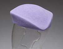 Lavender Tri Corner Hat