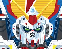 Gundam fan art illustration