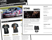 E-Newsletter Design for KRMA Clothing