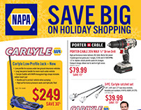 Napa Holiday Sales Flyer