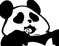 Fat Panda Studios Logo Design