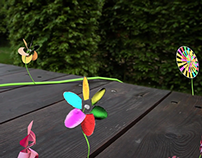 3D Flowers Integration