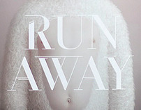 Run Away font