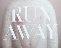 Run Away font