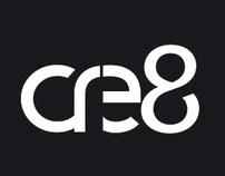 cre8 logo & namecard