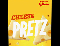Glico Cheese Pretz Repackaging