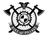 2015 Bike and Pillage Crest