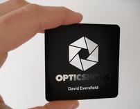Opticshock Business Card Design