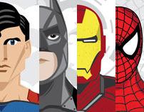 Superheroes Series