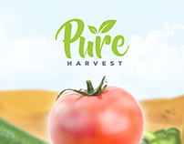 Pure Harvest Landing page