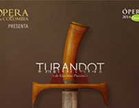 Turandot, Poster Design