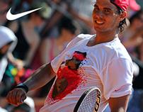 NIKE Tennis Shirts