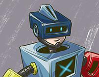 Rexel Brasil Group internal mascot