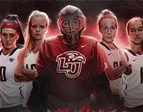 2017 Liberty Field Hockey Branding Campaign