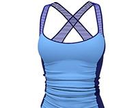 Marvelous Designer Tank-top 3D Clothes Model