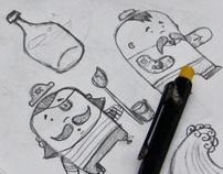Live Illustration - Personal Work