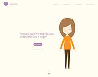 Serene   Mental Health Awareness Website