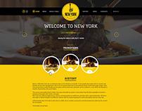 Website for new restaurant