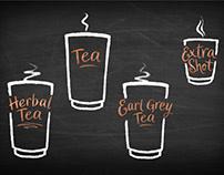 New coffee machine UI icons for Wild Bean Cafés, UK